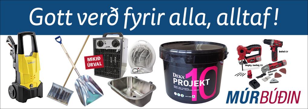 Múrbúðarverð - Gott verð fyrir alla alltaf.
