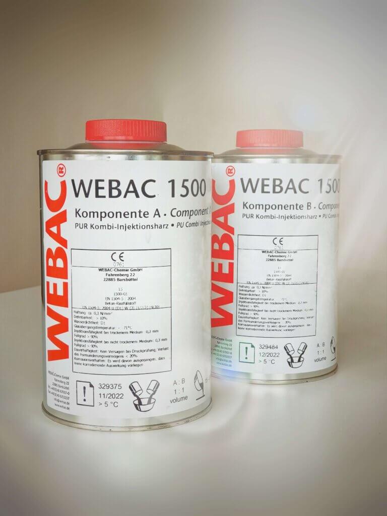 Webac 1500 inndælingarefni