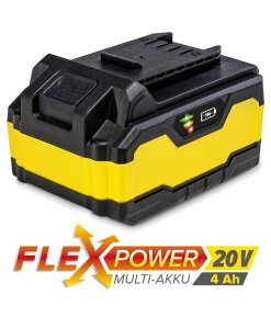 Flexpower rafhlaða 4Ah
