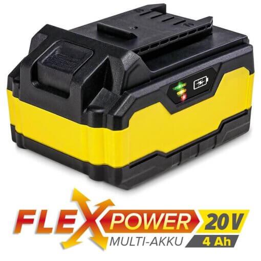 Flexpower rafhlaða 4Ah